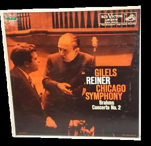 Brahms Concerto No. 2 Emil Gilels Fritz Reiner Chicago Shaded Dog LM-2219