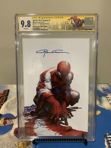 Spider-man-Annual-1-Virgin-CGC-9-8-signed-Clayton-Crain-Blue-Signature-Rare