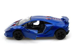 New 5 Kinsmart Lamborghini Sesto Elemento Diecast Model Toy 1 38