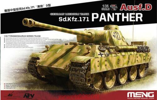 Meng TS-038 Model 1//35 German Sd.Kfz.171 Panther Ausf.D Tank super AAA
