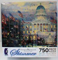 Thomas Kinkade The Light of Peace Shimmer Puzzle - 750-Piece Toys