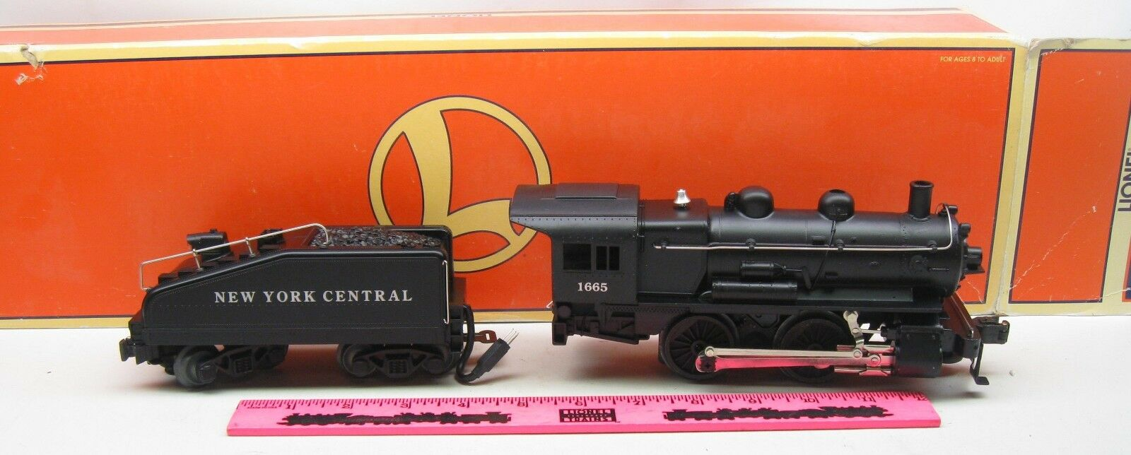 Lionel  6-18054 New York Central 1665 0-4-0 Steam Locomotive and Tender