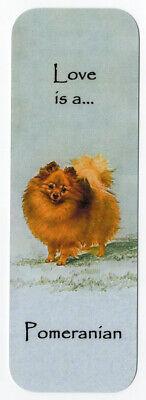 PYRENEAN MOUNTAIN DOG BEAUTIFUL DOG BOOKMARK SAME IMAGE BOTH SIDES GREAT GIFT