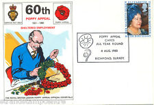 1980 Queen Mother - British Legion Poppy Appeal Official