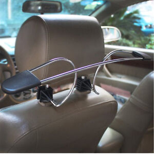 Car-Auto-Seat-Headrest-Clothes-Coat-Suit-Jacket-Stainless-Metal-Hanger-Holder