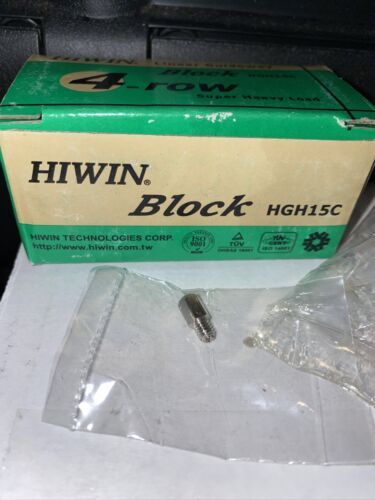 HIWIN linear block carriage H15C HGH15C 4-row Linear Guideway NEW SEALED