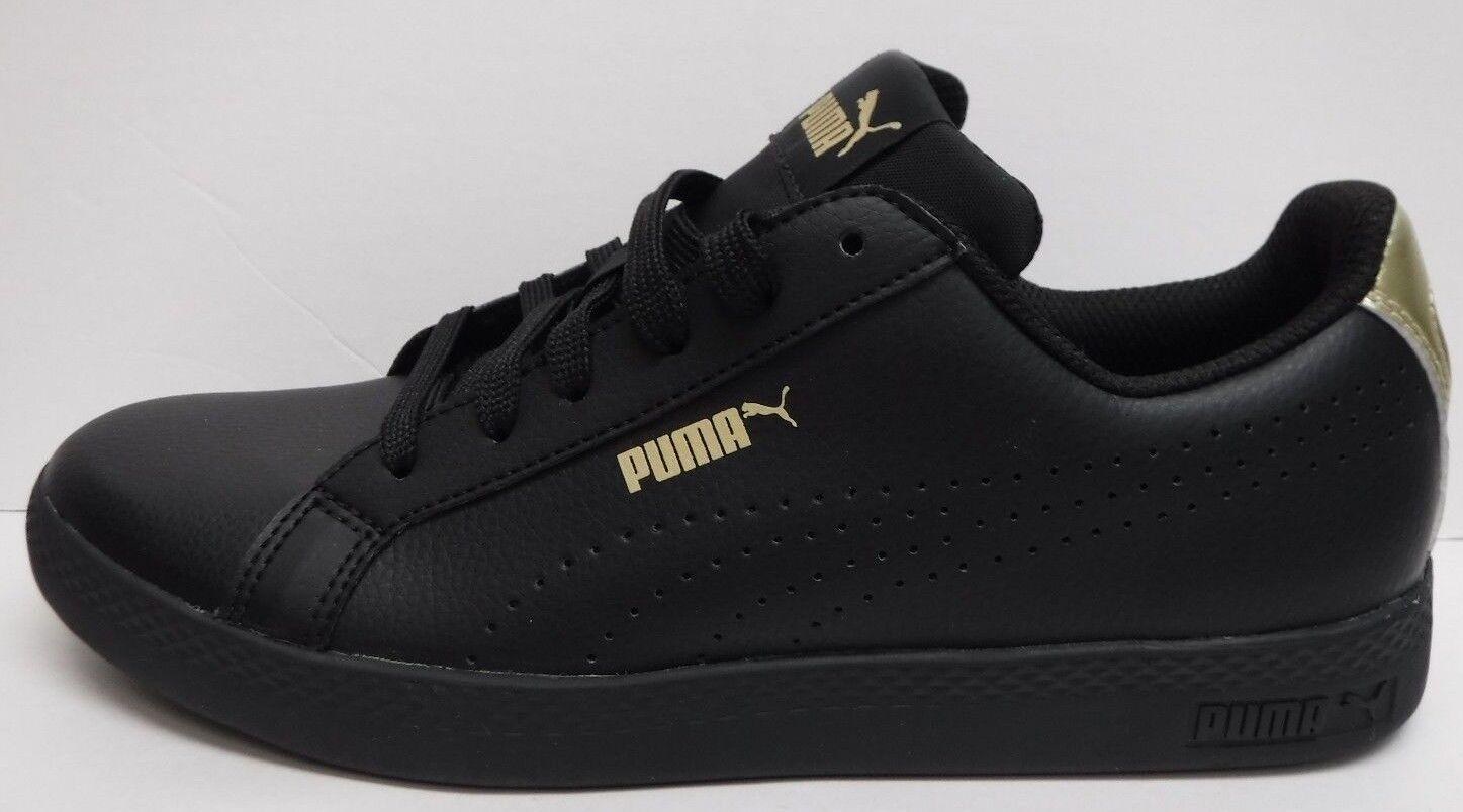 Puma dimensioni 8,5 pelle nera scarpe nuove scarpe femminili