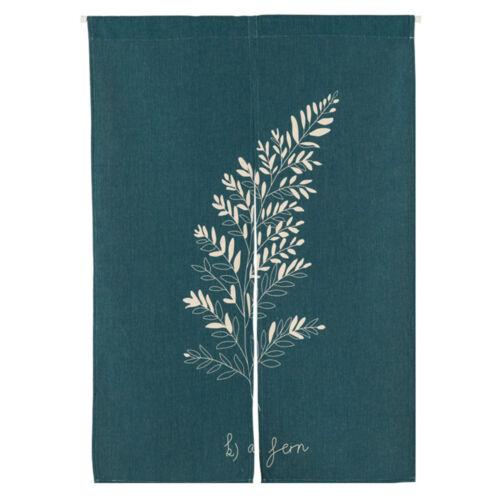 Japanese Noren Doorway Window Curtain Tapestry Cotton Linen Drapes Birds