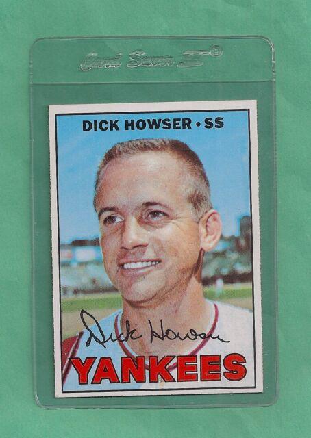 1967 Topps N.Y. Yankees Dick Howser # 411 NM-MT Low Pop!!