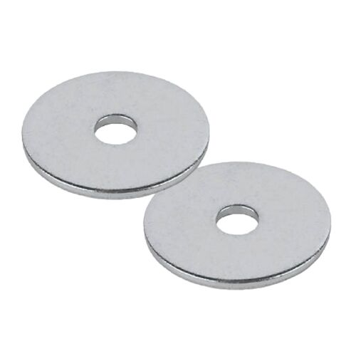 Steel Penny Repair Washers M10 x 50mm Bright Zinc Plated for Nuts Bolts /& Screws