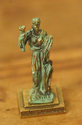 Silver ANCIENT GREEK ZAMAC MINIATURE OF DEMETER DIMITRA