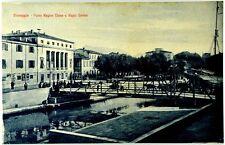 Cartolina Formato Piccolo - Viareggio - Ponte Regina Elena E Regio Casino