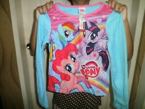 CLOSEOUT-SALE-Imported-From-USA-14-99-My-Little-Pony-Longsleeve-Top-Sz-10