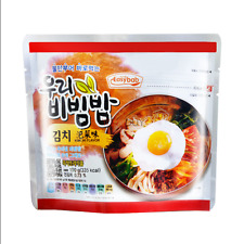 Korean Food Asian Food Snack Lunch EASYBAB Instant Kimchi Bibimbap 100g
