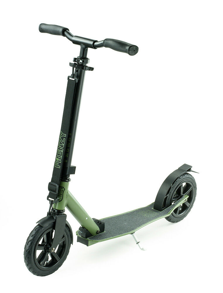 Frenzy Frenzy Frenzy 205 Pneumatic Recreational Scooter - Military Grün 76a123