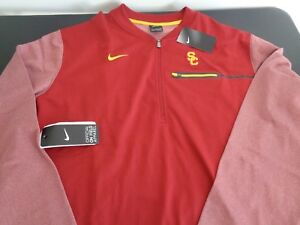 USC TROJANS Dri-Fit NIKE 1 4 Zip Size 2XL Shirt NEW Free Shipping ... 9f70aee8f5fec