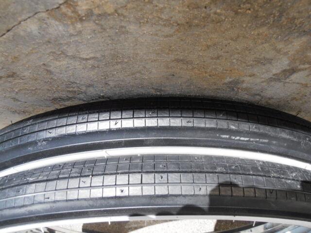 Columbia bicycle tires  Balloon Schwinn wide wide whitewall 26x2.125 brick tread