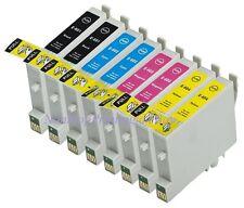 8PK Ink For Epson 60 T0601 - T0604 Stylus C88 C88+ C68 CX3800 CX4200 CX4800 5800