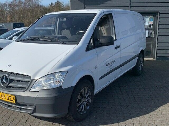 Mercedes Vito 113 2,2 CDi Standard K Diesel modelår 2012