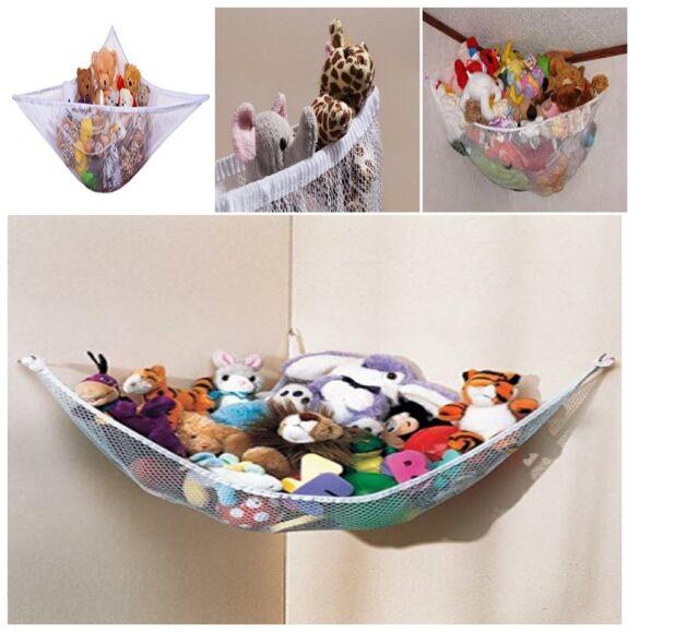 JUMBO Toy Hammock Net Organize Stuffed Animals And Kids Bath Toys