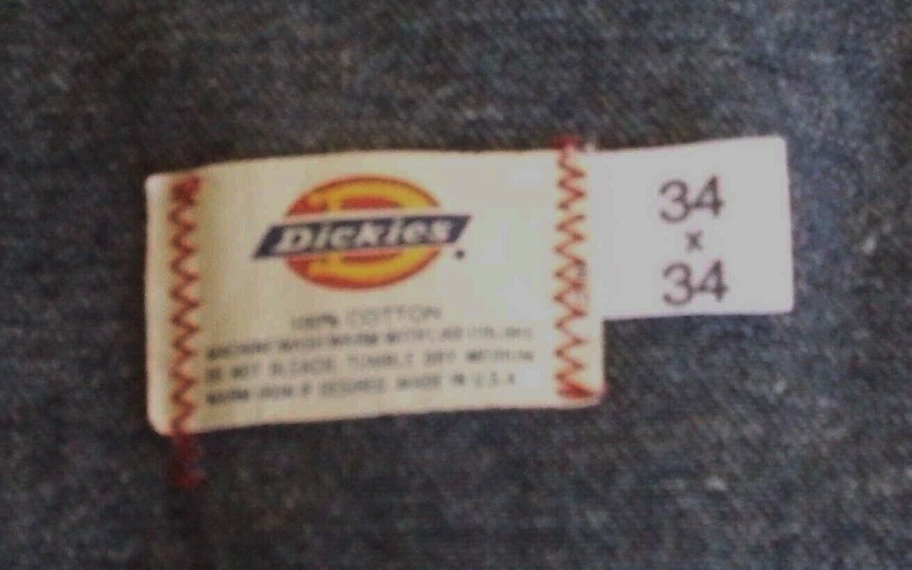 Vintage Dickies Overalls Size 34x34 - image 6