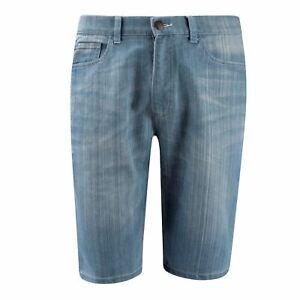 Details about Lee Cooper Washed Denim Shorts Mens Gents Pants Trousers Bottoms Zip Contrast