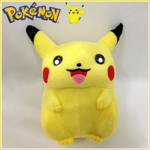 Obesity Langh Pikachu Pokemon Plush Toy Stuffed Animal Soft figure Doll 5