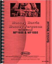 Massey Ferguson 1655 1855 Lawn & Garden Tractor Service Manual (MH-S-MF1655+)