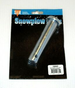 """Snow Plow 1/"""" x 4-3//4/"""" Cylinder pin Fisher 22260 part #1302327"""