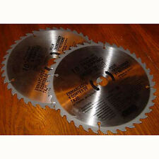 3 New 10 Inch CARBIDE TIP SAW BLADE 40 Tooth Blade Tool