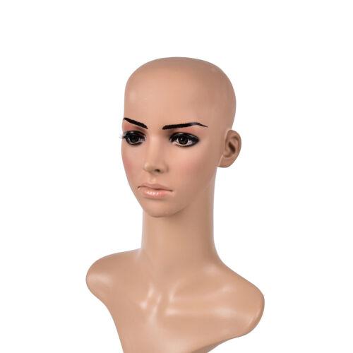 Fake Latex Flesh Skin Unisex Bald Head Wig Cap Rubber Skinhead Costume Prank RDR