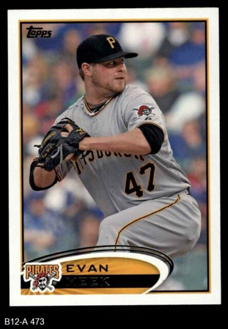 2012 Topps #473 Evan Meek Pirates NM/MT