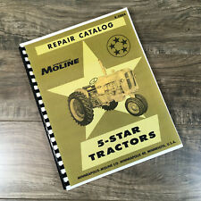 Minneapolis Moline 5 Star Tractor Parts Manual Catalog Book Assembly Schematics