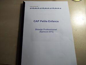 RAPPORT DE STAGE CRECHE+MAT CAP PETITE ENFANCE+BONUS*ENVOI ...