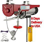 Vevor 440 880 1320 1760lbs Electric Hoist Crane Portable Lifter Overhead Garage