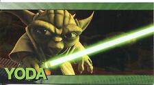 Star Wars Clone Wars Widevision Foil Character Chase Card #5