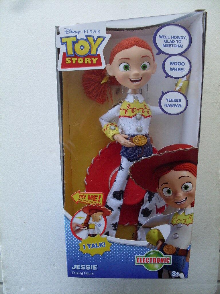 Jessie toy story parlante inglese english talking figure doll poupèe dolls T0514