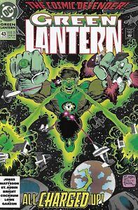 Green-Lantern-Comic-Issue-43-Modern-Age-First-Print-1993-Jones-Mattsson-Bright