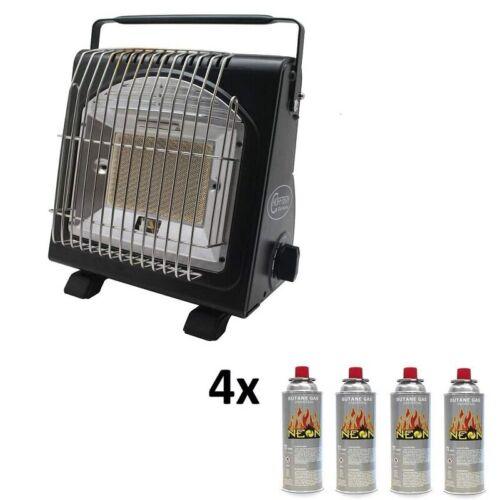 Infrarouge chauffage chauffage au gaz gaz avec piezo ALLUMAGE INCL 227 g gaskartuschen