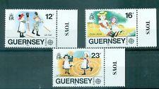 EUROPA CEPT - GUERNSEY 1989 Children's Games