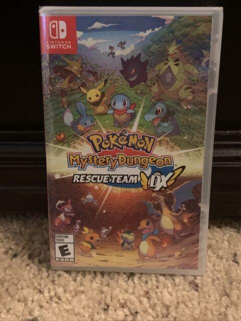 NEW! Pokémon Mystery Dungeon: Rescue Team DX Standard Edition (Nintendo Switch)