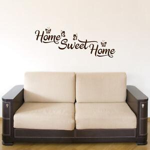 wandtattoo sprüche schlafzimmer - Home Sweet Home - A823 | eBay