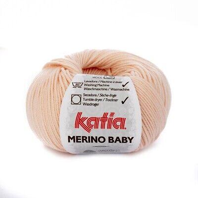 - 50 g // ca MERINO BABY von Katia 66 165 m Wolle MALVA