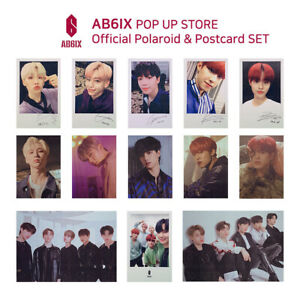 AB6IX-POP-UP-STORE-Official-Goods-Polaroid-amp-Postcard-SET