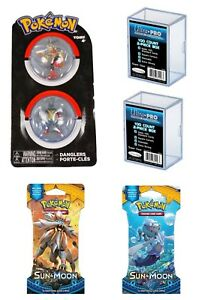 Pokemon-Danglers-Set-Mega-Blaziken-Mega-Lucario-UltraPro-Box-2-Blister-card