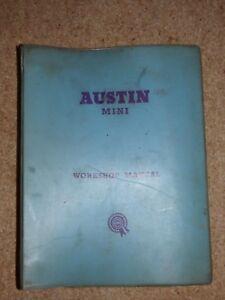 Humoristique Austin Mini Et Mini Cooper Workshop Manual Ado15, Akd1178d. Original.-afficher Le Titre D'origine éLéGant Dans Le Style