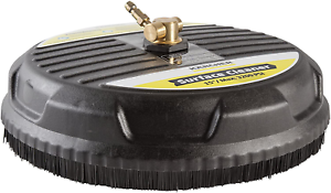 Pressure Washer Surface Brush Wand Cleaner Attachment Patio Driveway Concrete