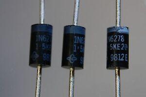 Televisores de diodo 30PCS 18V 600W 1.5KE18A DO-201AD Vishay