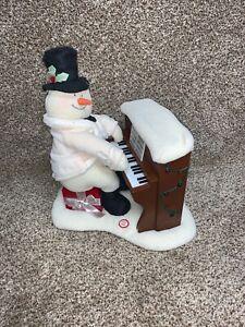 Hallmark-JINGLE-PALS-Plush-Piano-Playing-Snowman-Animated-Motion-Lights-Up-Songs