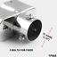 Universal-2-4-034-Stainless-Steel-Twin-Double-Dual-Chorme-Straight-Pipe-Exhaust-Tip thumbnail 12